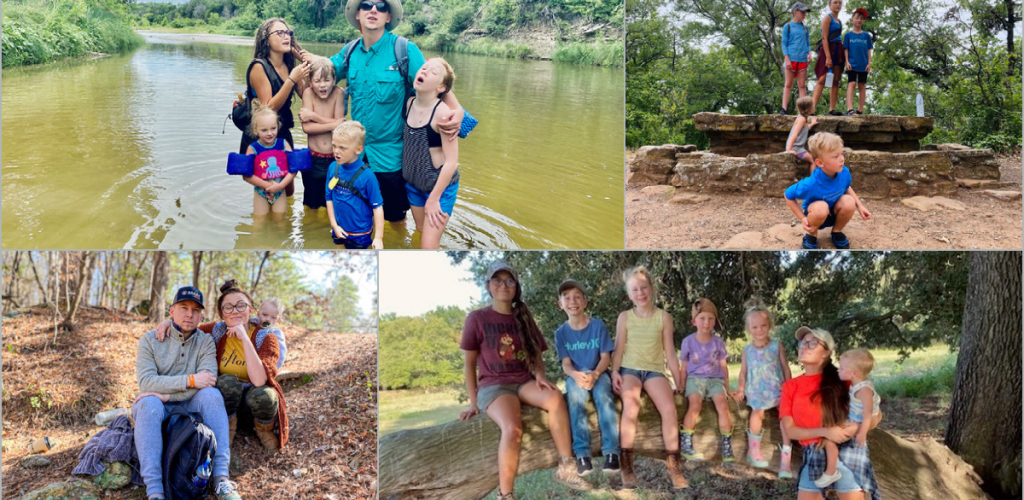 Seth Wells & his family enjoying the great outdoors of Texas